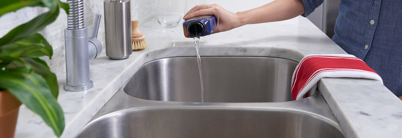 How To Unclog Your Kitchen Sink In 3 Steps Drano 174